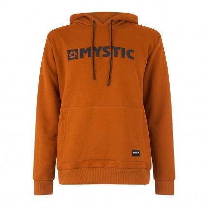 Mystic Brand Hood Sweat Golden Brown Front