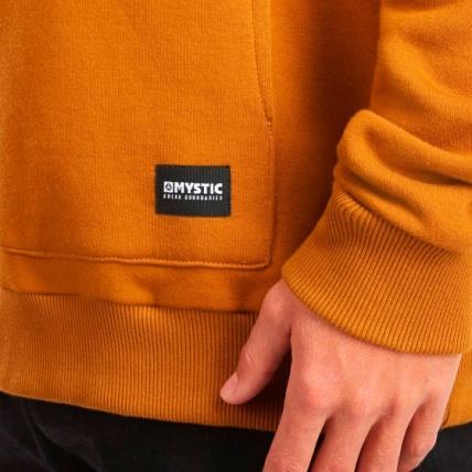 Mystic Brand Hood Sweat Golden Brown Pocket Detail
