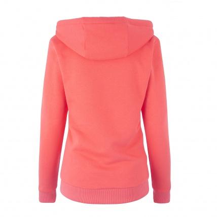 Mystic Brand Hoodie Faded Coral Womens Sweatshirt Back