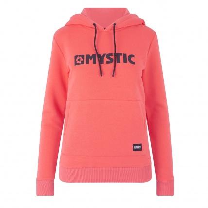 Mystic Brand Hoodie Faded Coral Womens Sweatshirt