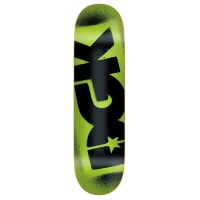 DGK - Logo Skateboard Deck Florescent Green 8.06
