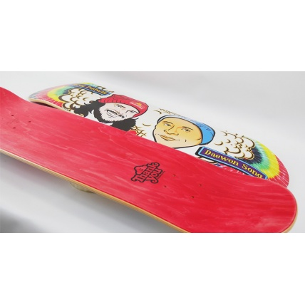 Thank You Buddies Skateboard Signed Deck