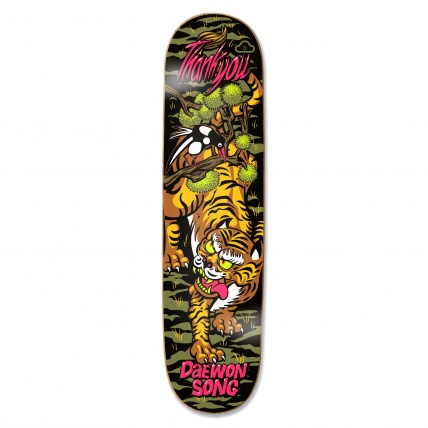 Thank You Tiger Skateboard Deck Daewon Song 8.0in