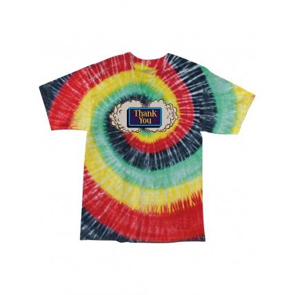 Thank You Buds Short Sleeve T-Shirt Tie-Dye