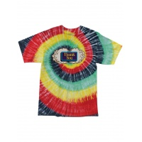 Thank You Skateboards - Buds Short Sleeve T-Shirt Tie-Dye