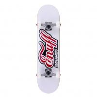 Enuff - Classic Logo Complete Skateboard White 7.75 inch