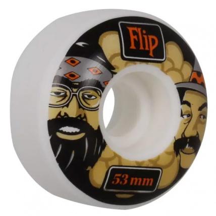 Flip Cutback Cheech & Chong 53mm Skateboard Wheels Angle