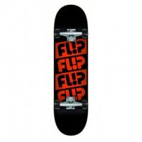 Flip - Team Quattro Odyssey Black 8.0 Complete Skateboard