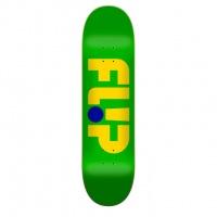 Flip - Odyssey Logo Green 7.88 Skateboard Deck