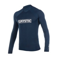 Mystic - Star Mens Long Sleeve Rash Vest Navy
