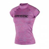 Mystic - Star Womens Pink Marlee Short Sleeve Rashvest