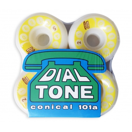 Dial Tone Rotary Classic Conical 101a Skateboard Wheel 52mm