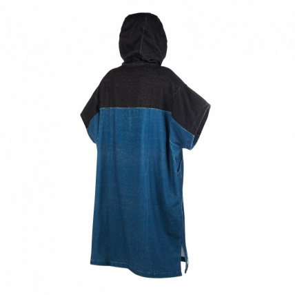 Mystic Poncho Teal Changing Robe Back