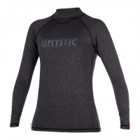 Mystic - Star Black Womens Long Sleeve Rashvest