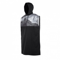 Mystic - LEN10 Quick Dry Poncho Black & White