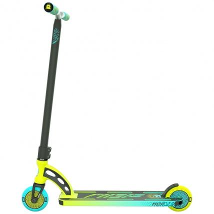 MGP VX9 Pro 4.0 Scooter Lime / Aqua Side