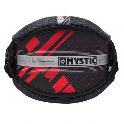 Mystic MajesticX Carbon Navy Red Waist Harness Rear