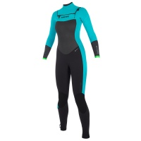 Mystic - Dutchess 3/2mm Mint Womens Front Zip Full Summer Wetsuit