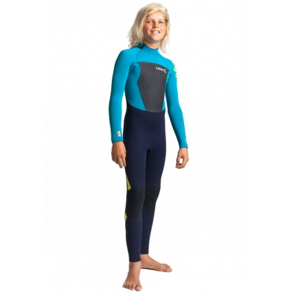C-Skins Legend 5:4:3 Back Zip Junior Wetsuit Teal