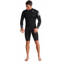 C-Skins - Mens Session 3:2mm Spring FZ Wetsuit Black C