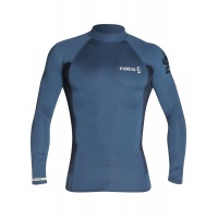C-Skins - Mens Long Sleeve Crew Neck UK Skin Indigo