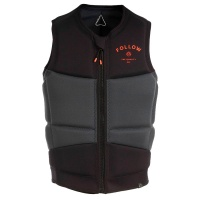 Follow - Coastline Black Mens Wake Impact Jacket