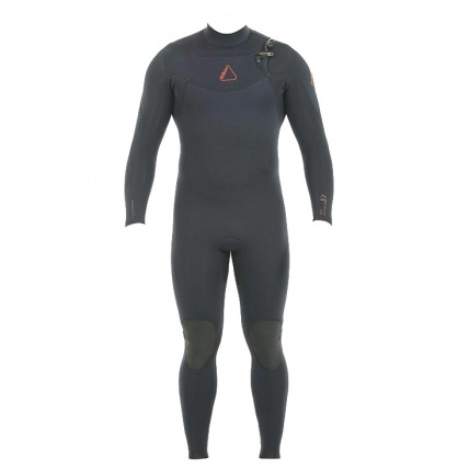 Follow Mens Pro 3:2mm Sealed Steamer Wetsuit Black