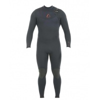 Follow - Mens Pro 3:2mm Sealed Steamer Wetsuit Black