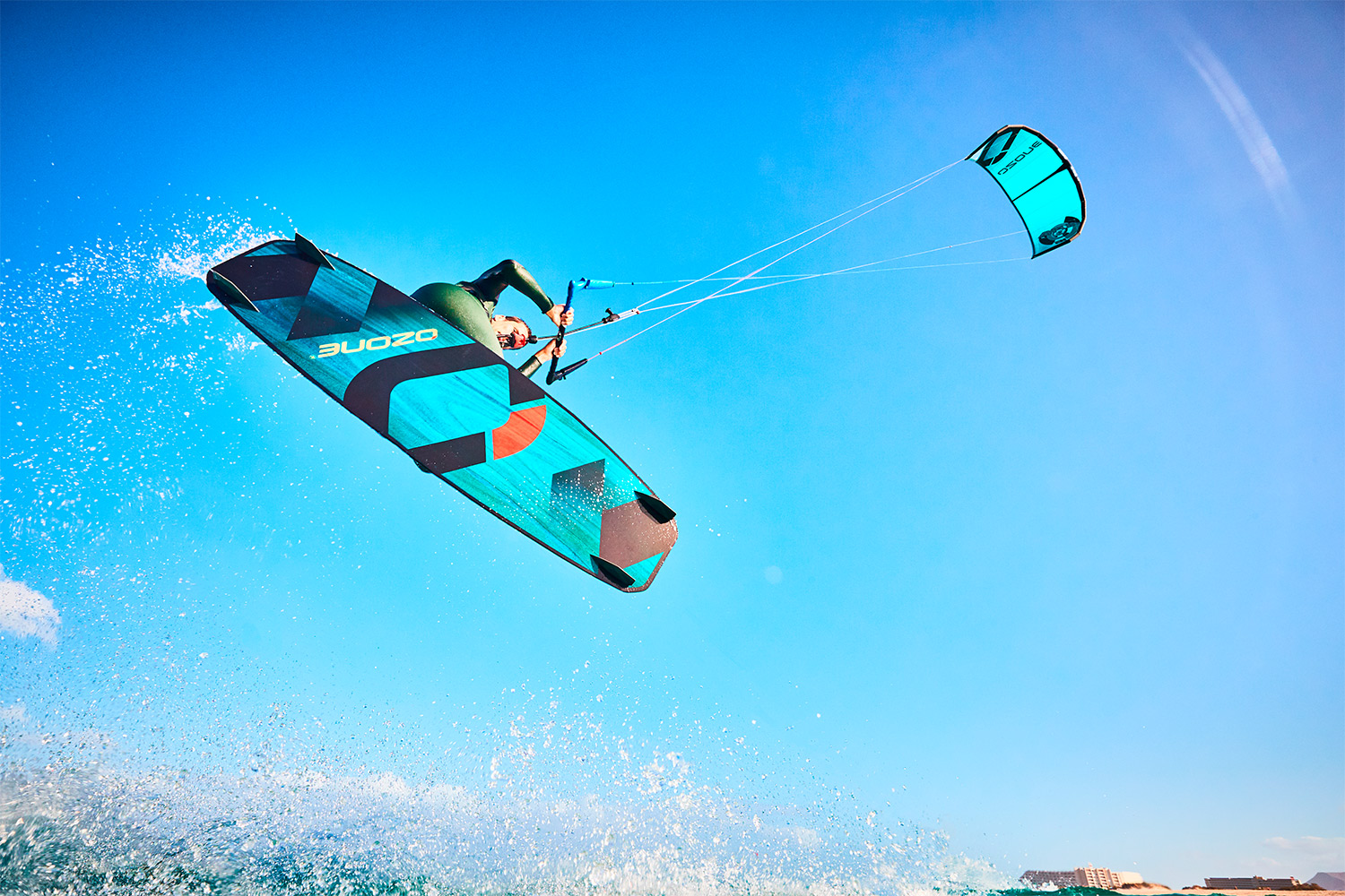 Ozone Base V1 Beginner Intermediate Kiteboard - ATBShop.co.uk