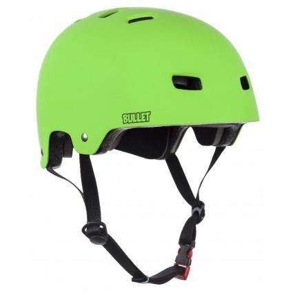 Bullet Deluxe Junior Helmet OSFA XS/S/M Green