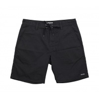 Follow - ATV Boardie Walk Shorts Black