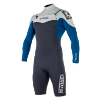 Mystic - Star 3/2mm Navy Longarm Shorty FZ Mens Wetsuit