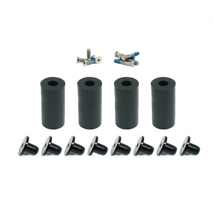 Trampa Barrels Springless Mountainboard Kit