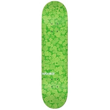 Krooked Guardin 8.06in Skateboard Deck - Green