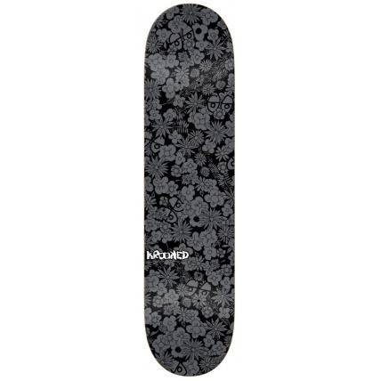 Krooked Guardin 7.75in Skateboard Deck - Black