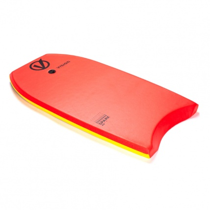 Vison Spark Bodyboard Red Yellow
