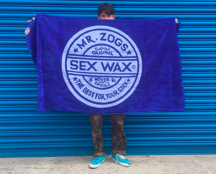 mr zogs sex wax towel in Goulburn