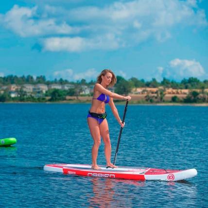 OBrien Zephyr Paddleboard 10ft 6in Action