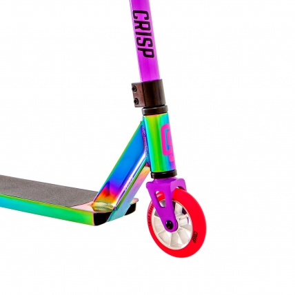 Crisp Surge Colour Chrome Pink Stunt Scooter Front