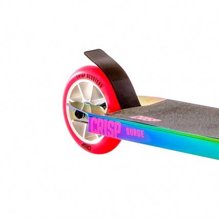 Crisp Surge Colour Chrome Pink Stunt Scooter Rear