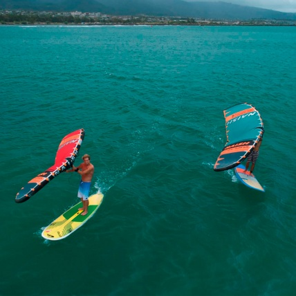 Naish WingSurfer SUP Riding