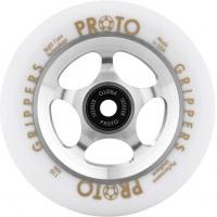 Proto - Slider 110mm Raw Core White PU Scooter Wheel