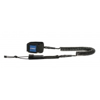 STX - SUP Coiled Leash Black 10ft