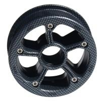 MBS - Rockstar II Mountainboard Hub Carbon