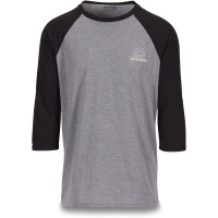Dakine - Well Rounded 3/4 Black Raglan Mens Tech Tee