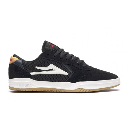 Lakai Atlantic X Chocolate Black Yellow Suede