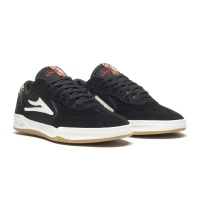Lakai - Atlantic X Chocolate Black Yellow Suede
