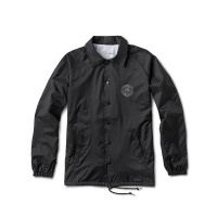 Primitive - Global Coach Jacket Black Silver
