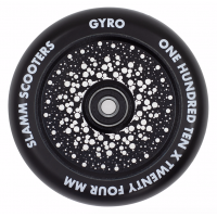 Slamm Scooters - Gyro Hollow Core Black 110mm Wheel
