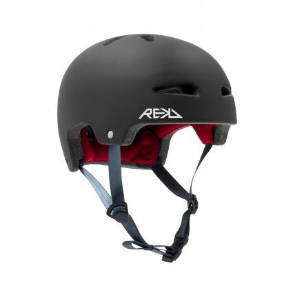 Rekd Ultralite In-Mold Black Helmet side